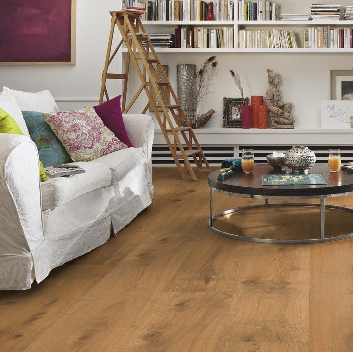 MEISTER GERMAN QUALITY ENGINEERED WOOD FLOORING HD300 LINDURA COLLECTION RUSTIC OAK BRUSHED NATURALLY OILED 270MM