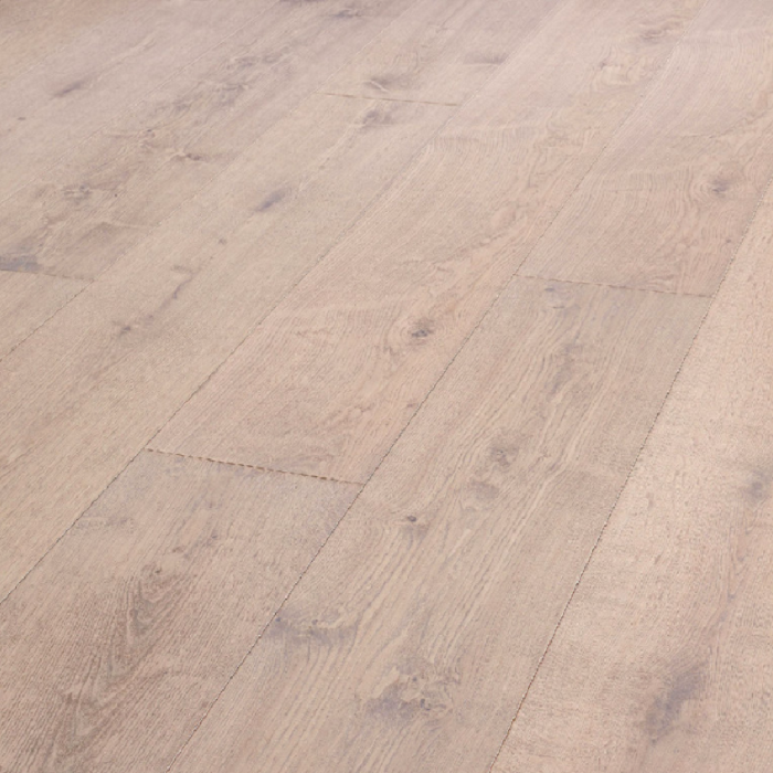 MEISTER GERMAN QUALITY ENGINEERED WOOD FLOORING HD300 LINDURA COLLECTION WHITEWASHED OAK BRUSHED LIVELY NATURALLY OILED 270MM