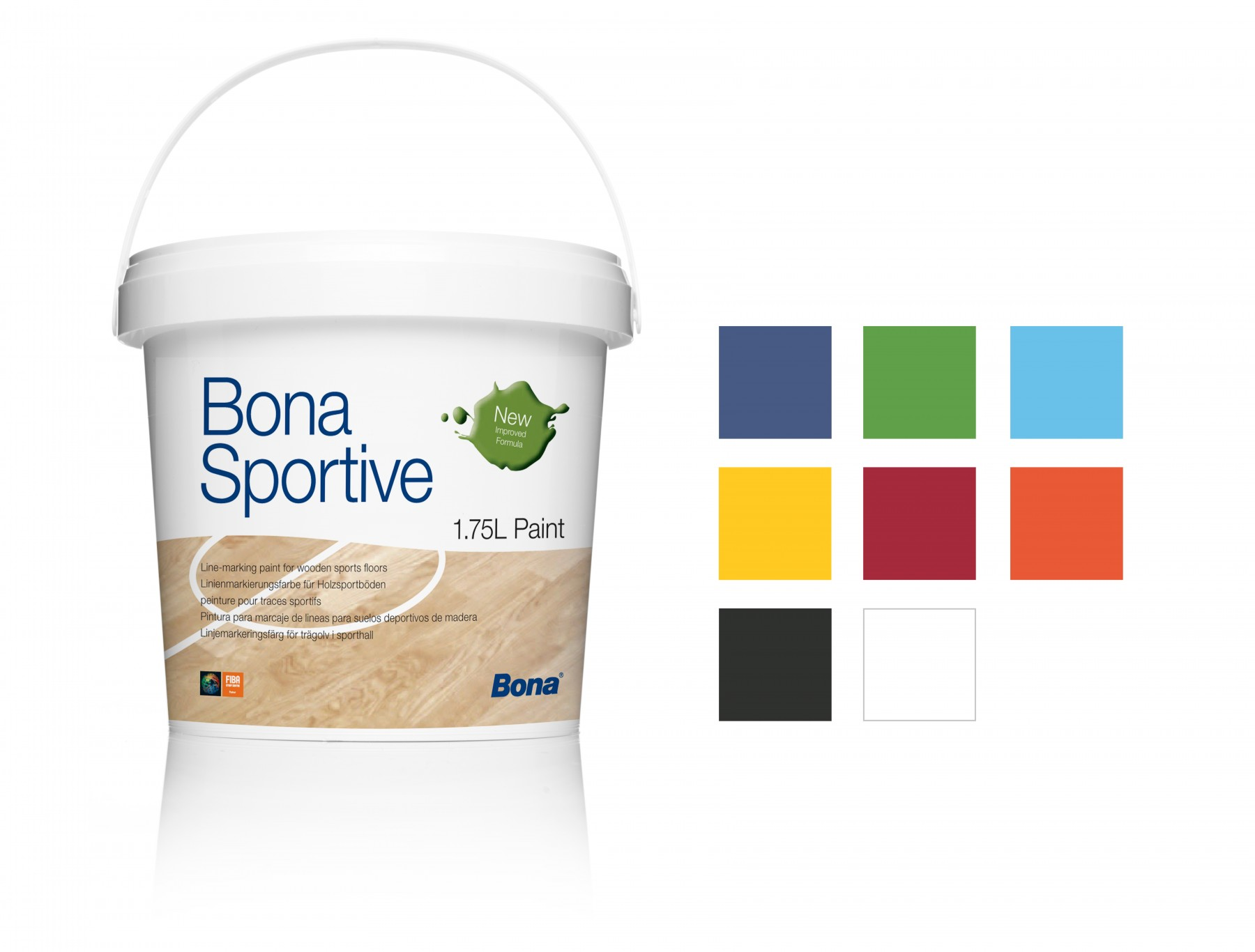 Bona Sportive Paint Red 1,75L