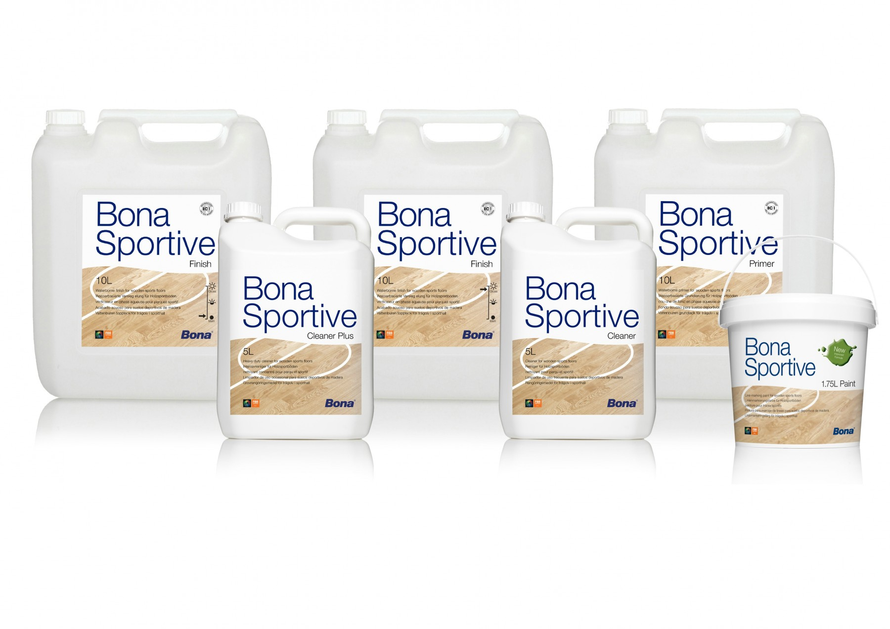 Bona Sportive Paint Yellow 1,75L