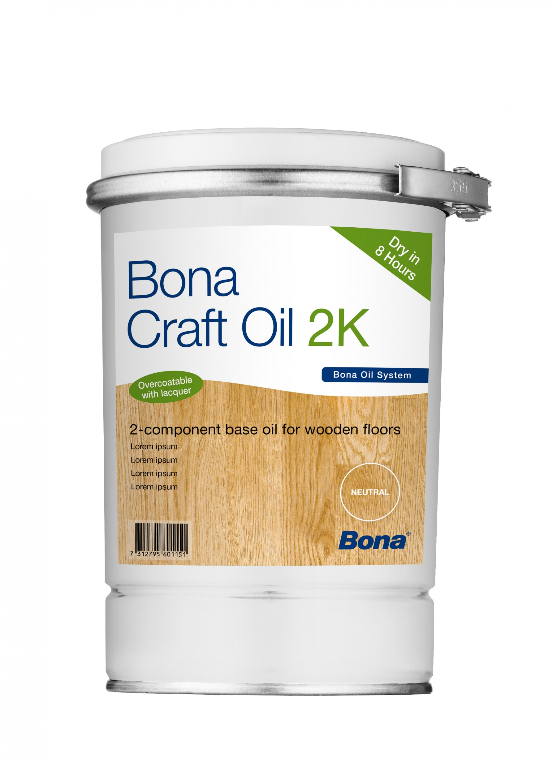 Bona Craft Oil 2K Ash (Grey/Weathered) 1,25L