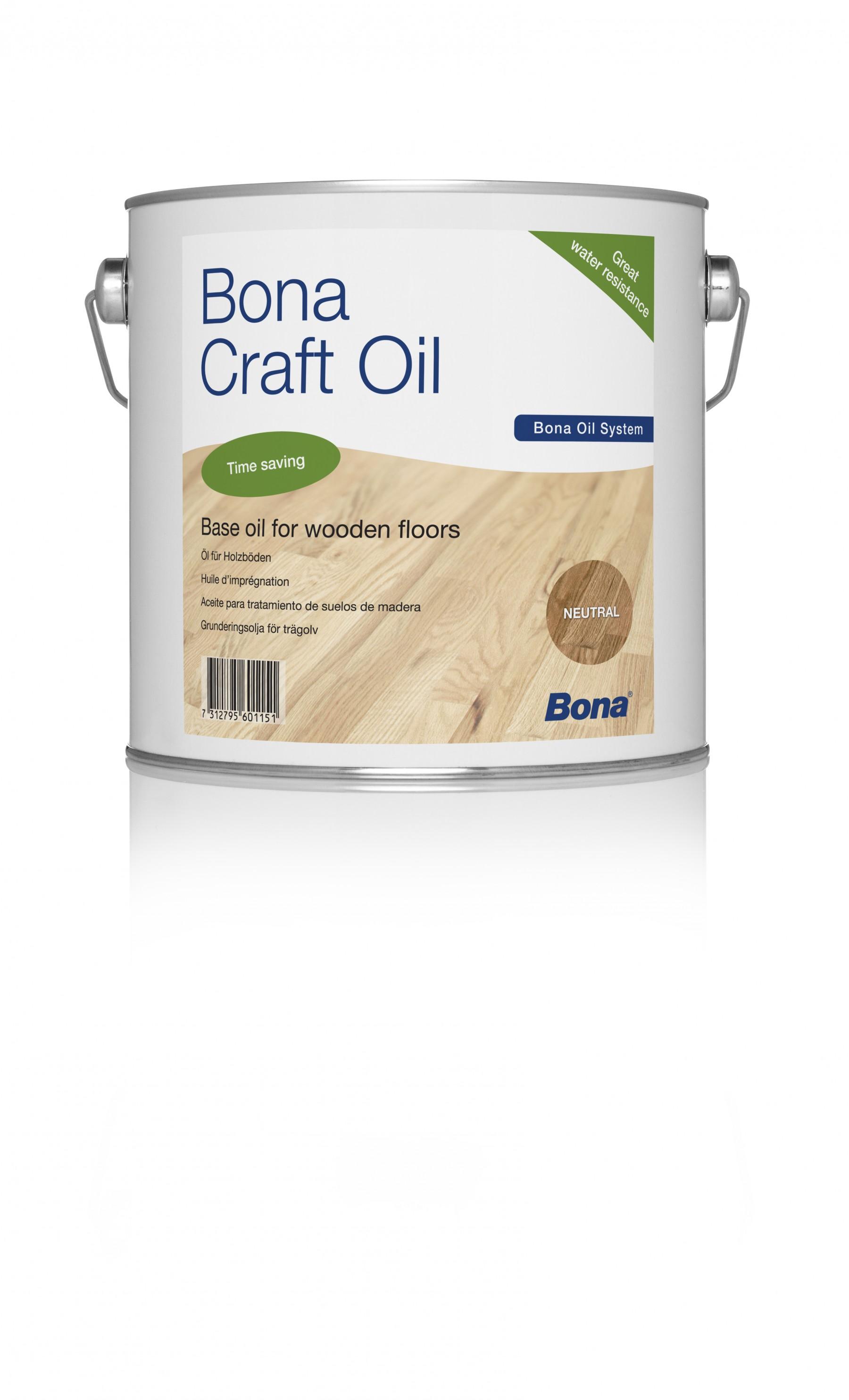 Bona Craft Oil Pure (Natural/Clear) 1L