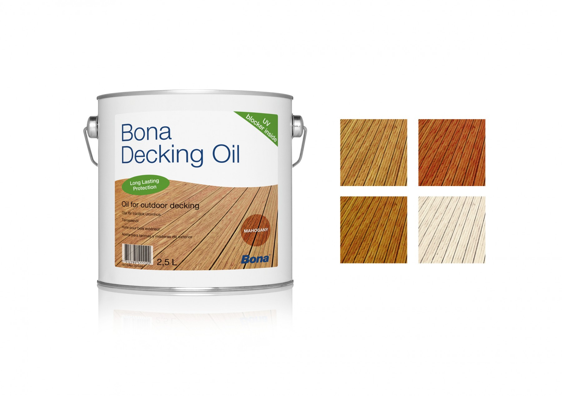 Bona Decking Oil Teak 2,5L