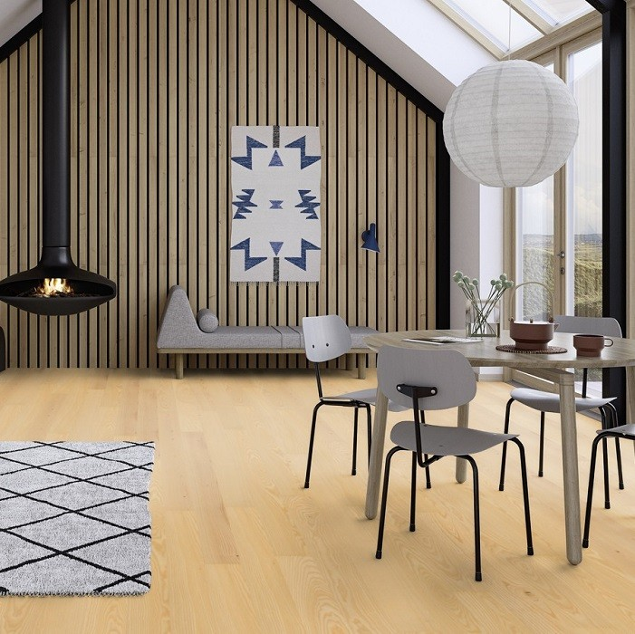 BOEN ENGINEERED WOOD FLOORING NORDIC COLLECTION ANDANTE ASH PRIME MATT LACQUERED 138MM - CALL FOR PRICE