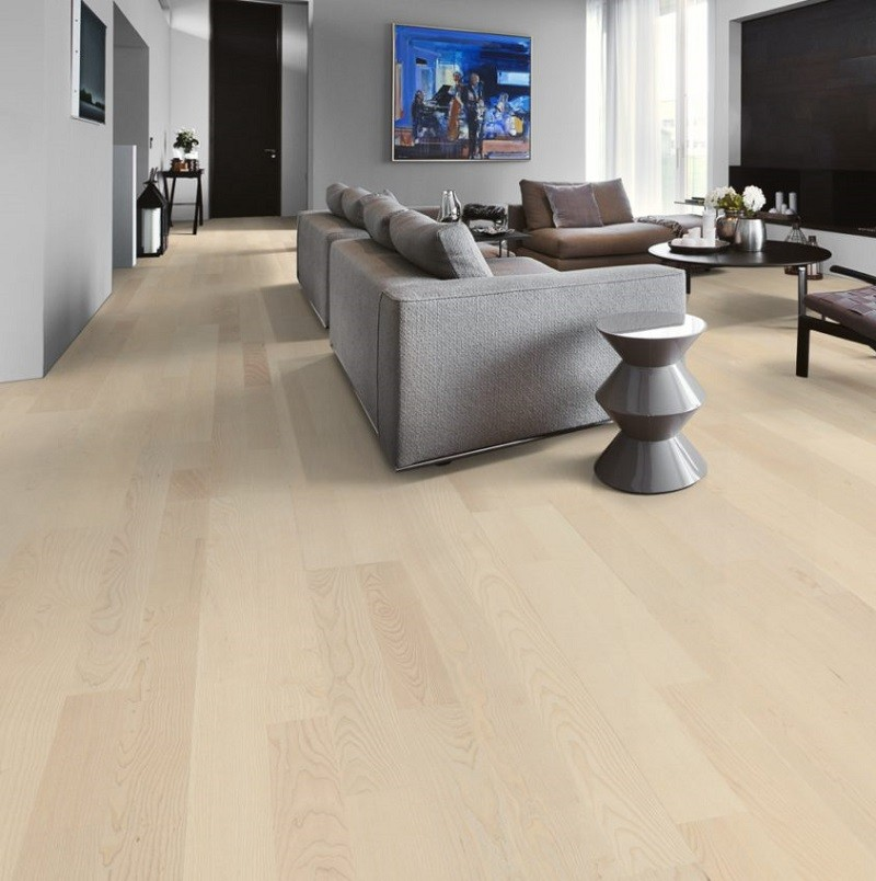 KAHRS Lumen Collection Ash Ardor Ultra Matt Lacquer  Swedish Engineered  Flooring 200mm - CALL FOR PRICE