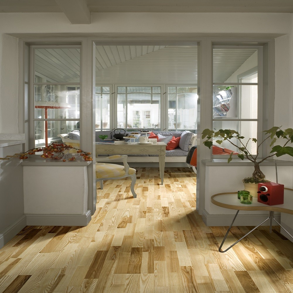 KAHRS Nordic Naturals Ash Kalmar Matt Lacquer Swedish Engineered Flooring 200mm- CALL FOR PRICE