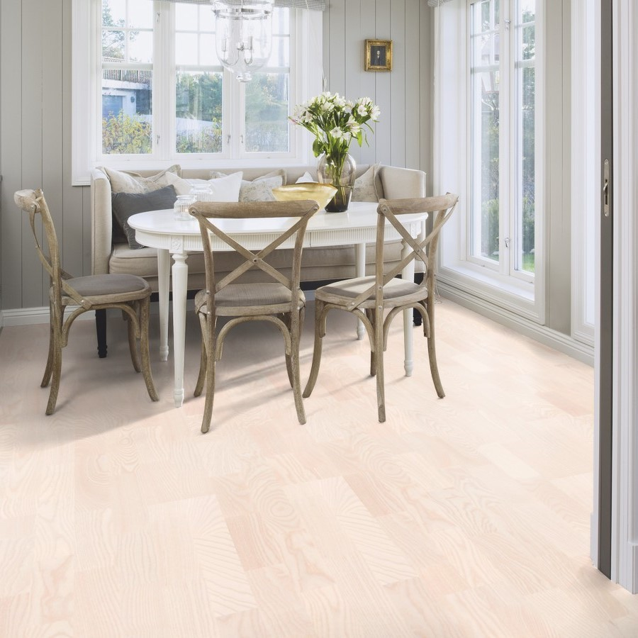 BOEN ENGINEERED WOOD FLOORING NORDIC COLLECTION POLAR ANDANTE ASH PRIME MATT LACQUERED 138MM - CALL FOR PRICE
