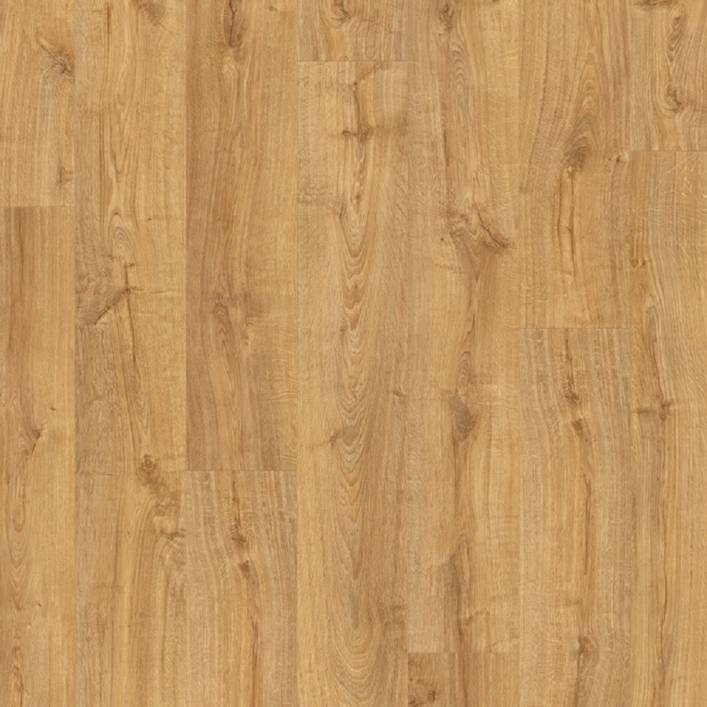 QUICK STEP VINYL WATERPROOF PULSE CLICK COLLECTION AUTUMN OAK HONEY  FLOORING 4.5mm