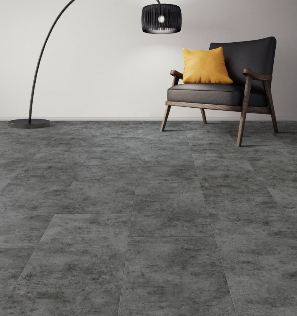 Natural Solutions Urban Tile Collection Basalt Terra Laminate Flooring 8mm