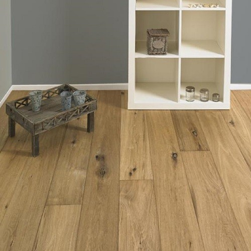 LALEGNO ENGINEERED WOOD FLOORING ANTIQ COLLECTION BERGERAC OAK SMOKED HANDSCRAPPED OILED  190X1900MM-CALL FOR PRICE
