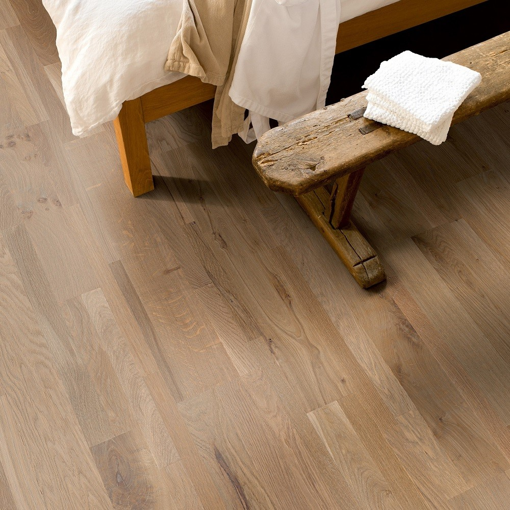 QUICK STEP ENGINEERED WOOD VARIANO COLLECTION  OAK CHAMPAGNE BRUT OILED  FLOORING  190x2200mm