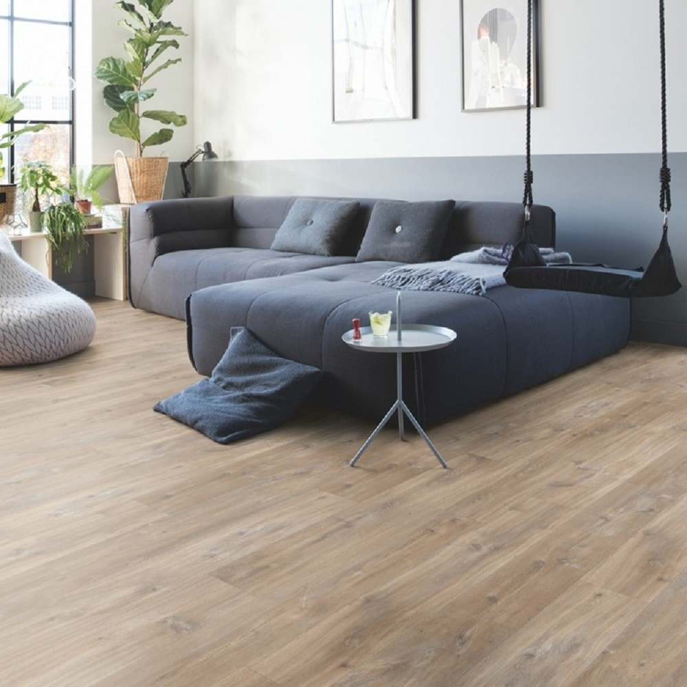 QUICK STEP VINYL WATERPROOF BALANCE CLICK COLLECTION CANYON OAK BROWN FLOORING 4.5mm