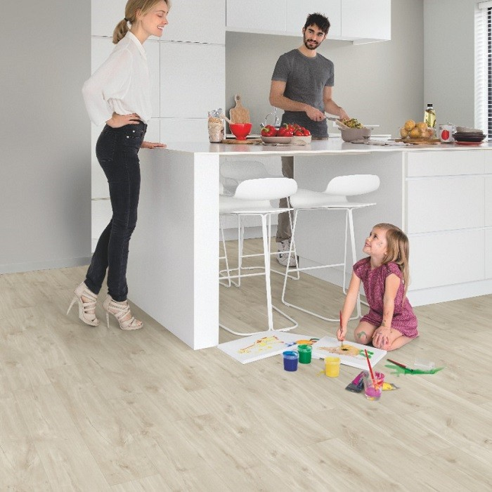 QUICK STEP VINYL WATERPROOF BALANCE CLICK COLLECTION CANYON OAK BEIGE FLOORING 4.5mm