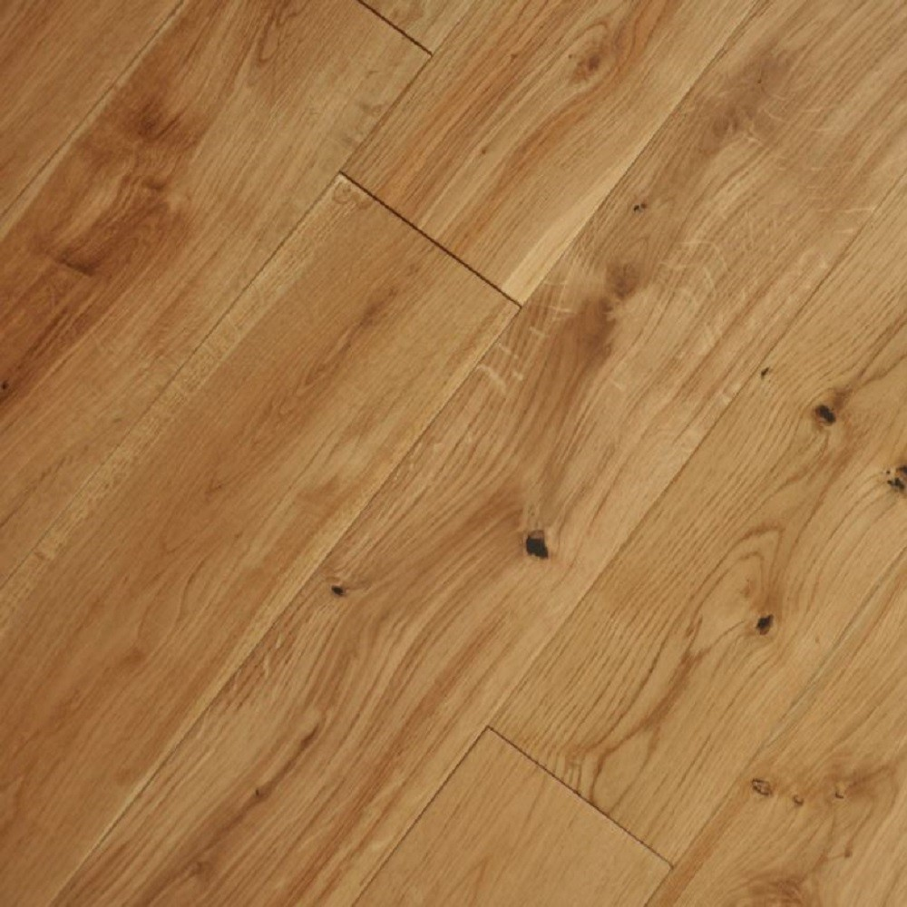 Y2 EUROPEAN  SOLID WOOD FLOORING CLASSIC OAK LACQUERED 150xRANDOM