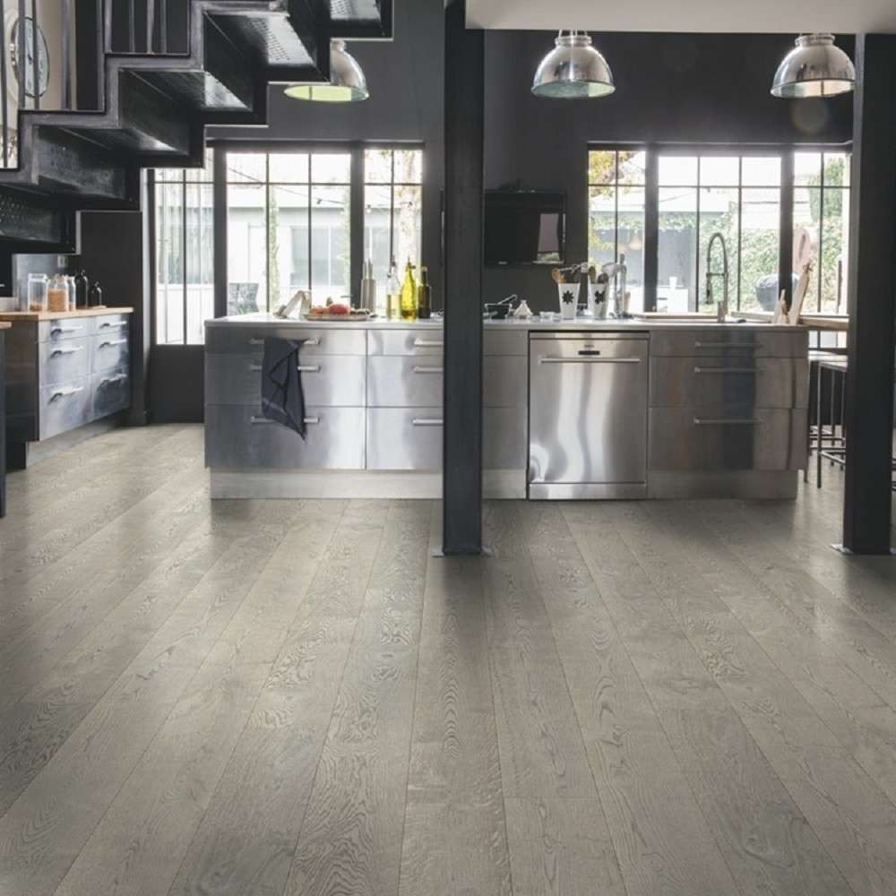 QUICK STEP ENGINEERED WOOD PALAZZO COLLECTION OAK CONCRETE OILED  FLOORING 120x1820mm