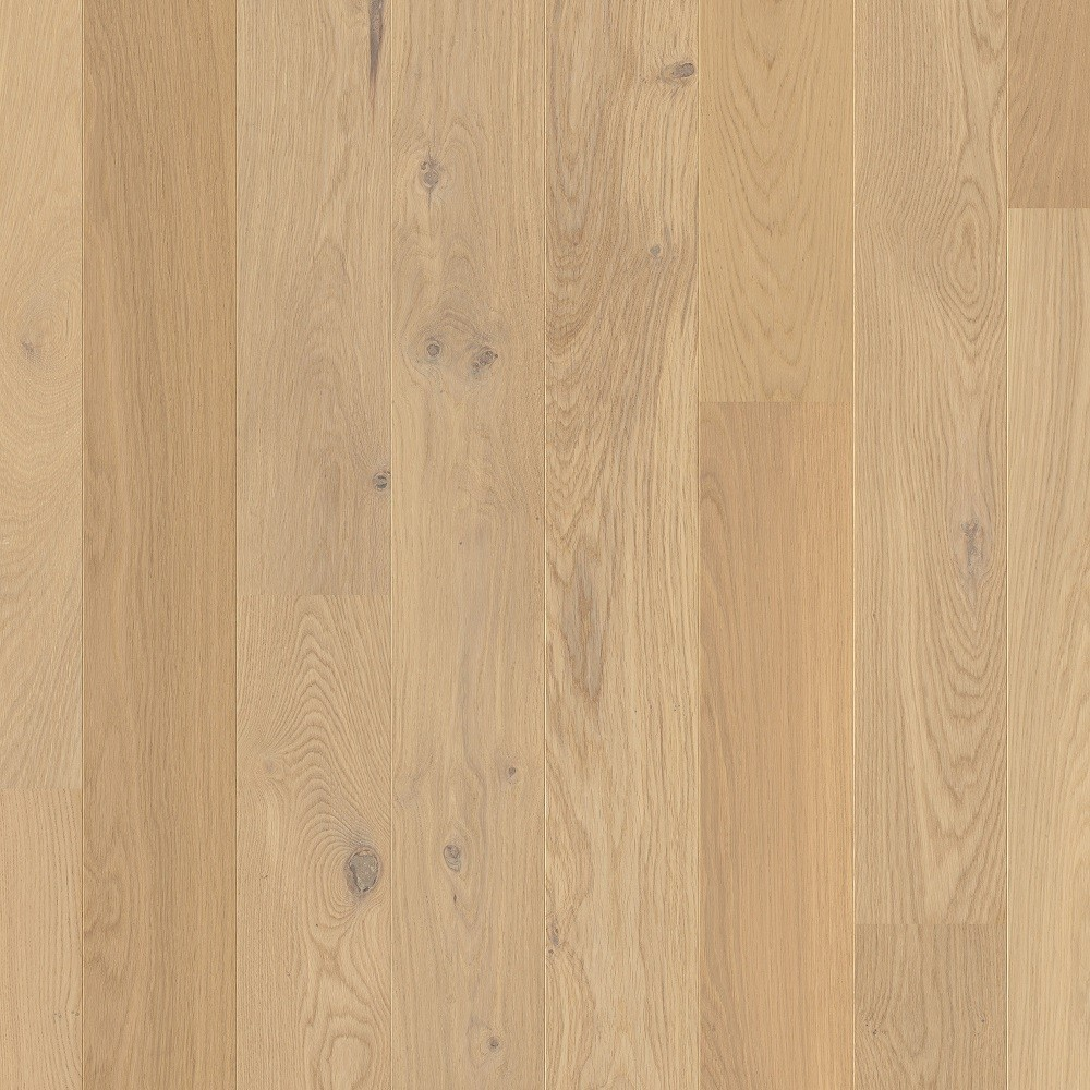 QUICK STEP ENGINEERED WOOD COMPACT COLLECTION OAK COTTON WHITE  MATT LACQUERED FLOORING 145x1820mm
