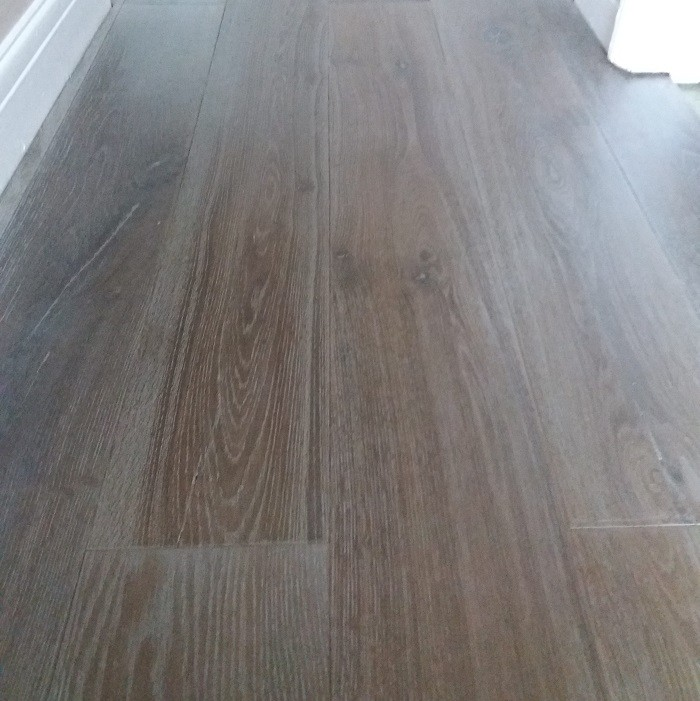 LIVIGNA STRUCTURAL ENGINEERED WOOD FLOORING OAK DOUBLE SMOKED BRUSHED  WHITE OILED 190x1900mm