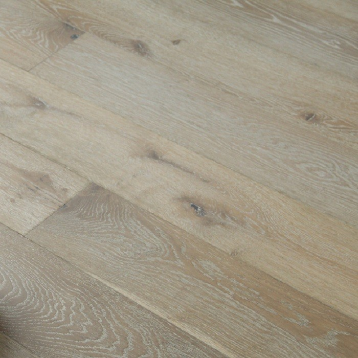 MAXI ENGINEERED WOOD FLOORING OAK DOUBLE SMOKED RUSTIC WHITE OILED