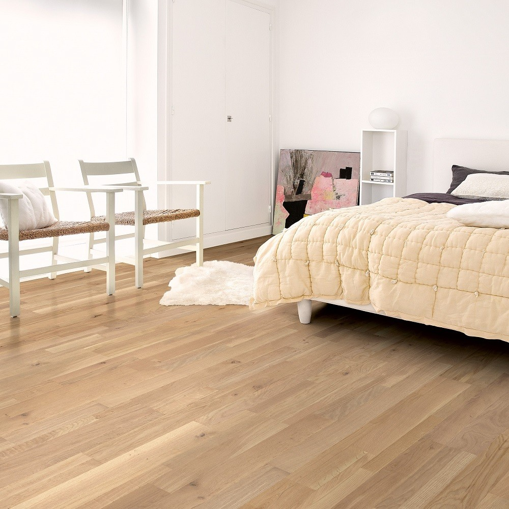 QUICK STEP ENGINEERED WOOD VARIANO COLLECTION  OAK DYNAMIC RAW LACQUERED FLOORING 190x2200mm