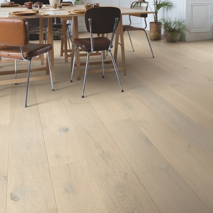 QUICK STEP ENGINEERED WOOD PALAZZO COLLECTION OAK FROZEN OAK  EXTRA MATT LACQUERED FLOORING 120x1820mm
