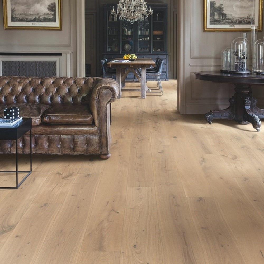 QUICK STEP ENGINEERED WOOD IMPERIO COLLECTION OAK GENUINE EXTRA MATT LACQUERED FLOORING 220x2200mm