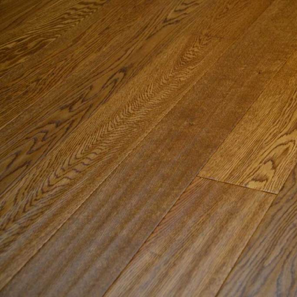 YNDE-BUCKS ENGINEERED WOOD BUCKINGHAM COLLECTION  GOLDEN HANDSCRAPED  OAK LACQUERED 127x1200mm