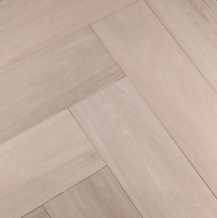 YNDE-PARQUET HERRINGBONE ENGINEERED WOOD PRIME AB OAK UNFINISHED FLOORING 150X600MM