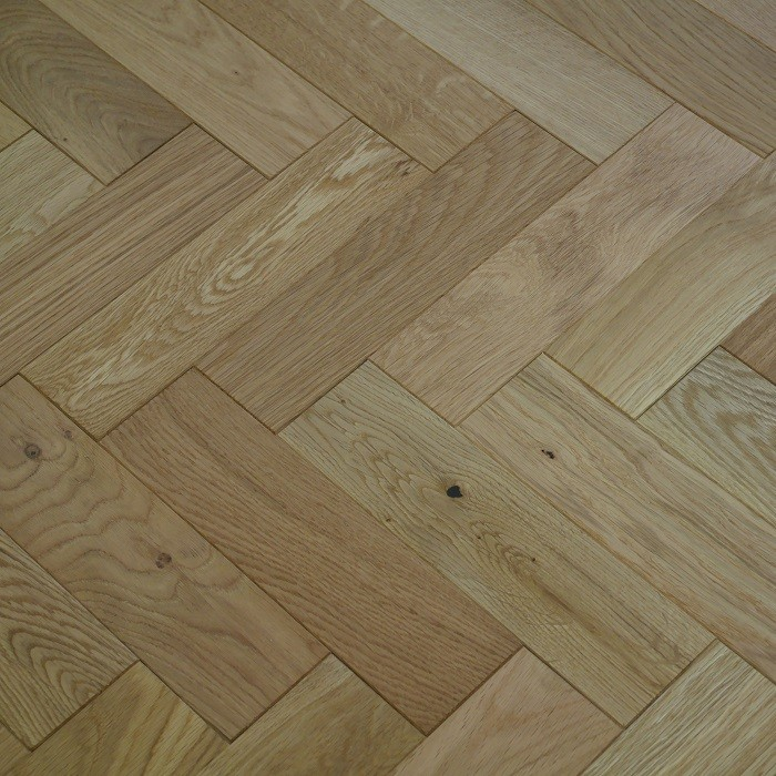 YNDE-PARQUET HERRINBONE ENGINEERED WOOD FLOORING NATURAL  BRUSHED MATT LAC 80x300mm
