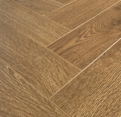 Natural Solutions Chateau Herringbone Honey Oak Laminate