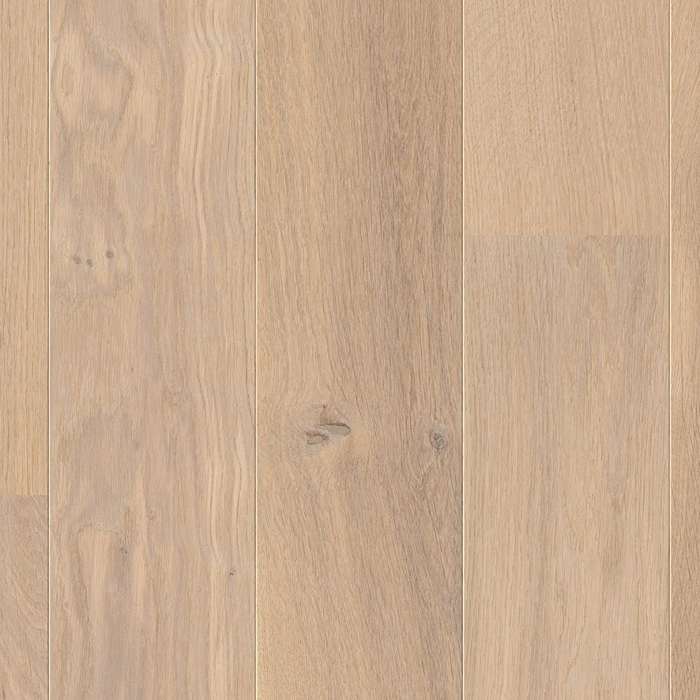 QUICK STEP ENGINEERED WOOD COMPACT COLLECTION OAK HIMALAYAN WHITE EXTRA MATT LACQUERED FLOORING 145x1820mm