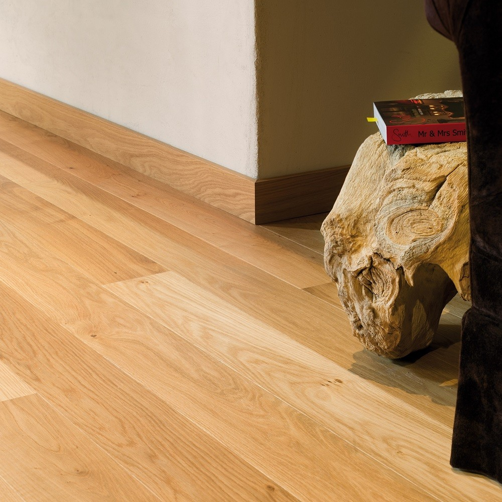 QUICK STEP ENGINEERED WOOD CASTELLO COLLECTION  HONEY OAK OILED FLOORING 145x1820mm