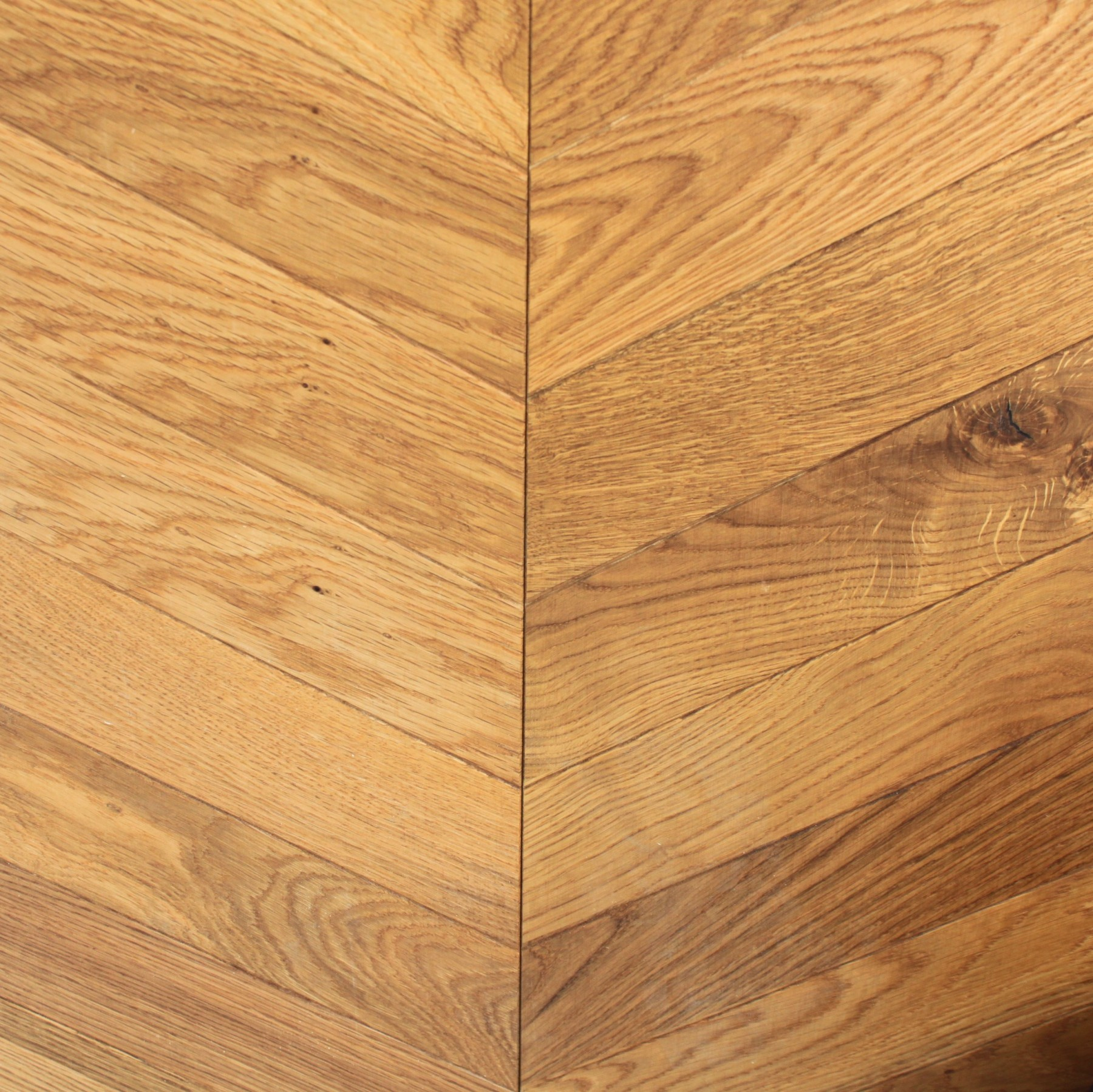 KAHRS Chevron Swedish Engineered wood Flooring  Oak Light Brown Oiled  305mm