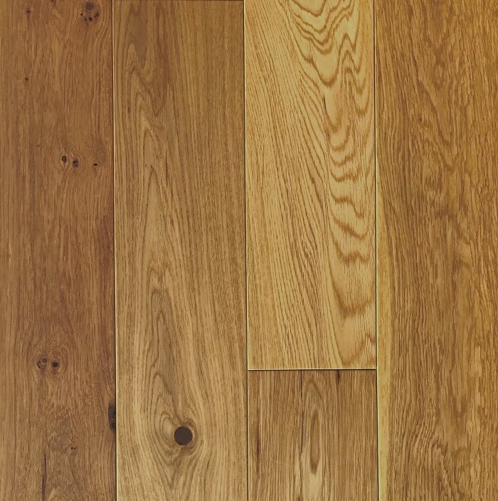 LIVIGNA ENGINEERED WOOD FLOORING OAK RUSTIC MATT LACQUERED 125x400-1200mm