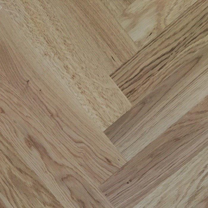 LIVIGNA HERRINGBONE ENGINEERED WOOD FLOORING LACQUERED RUSTIC OAK 70X350MM