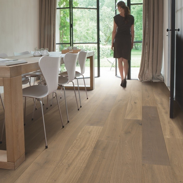 QUICK STEP ENGINEERED WOOD PALAZZO COLLECTION OAK LATTE OILED  FLOORING 120x1820mm