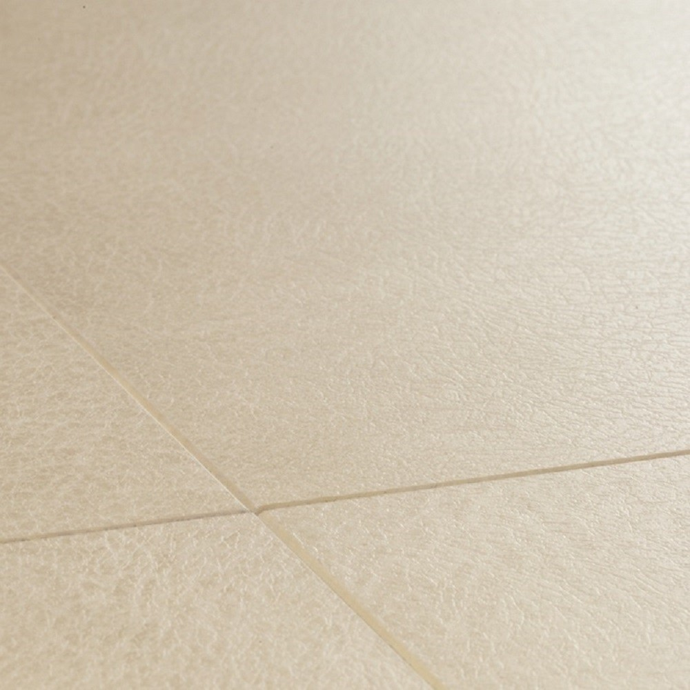 QUICK STEP LAMINATE ARTE COLLECTION LEATHER TILE LIGHT FLOORING  9.5mm