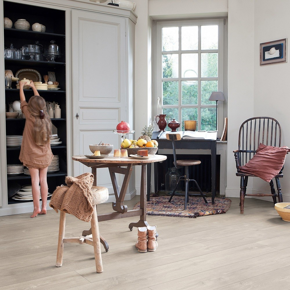 QUICK STEP LAMINATE LARGO  COLLECTION OAK DOMINICANO GREY   FLOORING 9.5mm