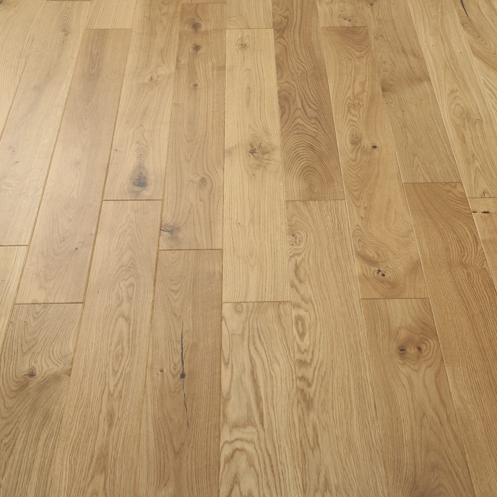 LIVIGNA ENGINEERED WOOD FLOORING OAK RUSTIC MATT LACQUERED  190x1900mm