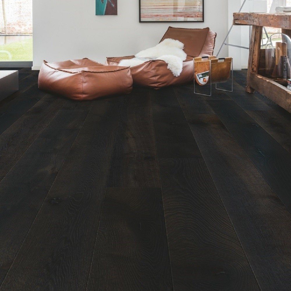 QUICK STEP ENGINEERED WOOD PALAZZO COLLECTION OAK MIDNIGHT OILED  FLOORING 120x1820mm