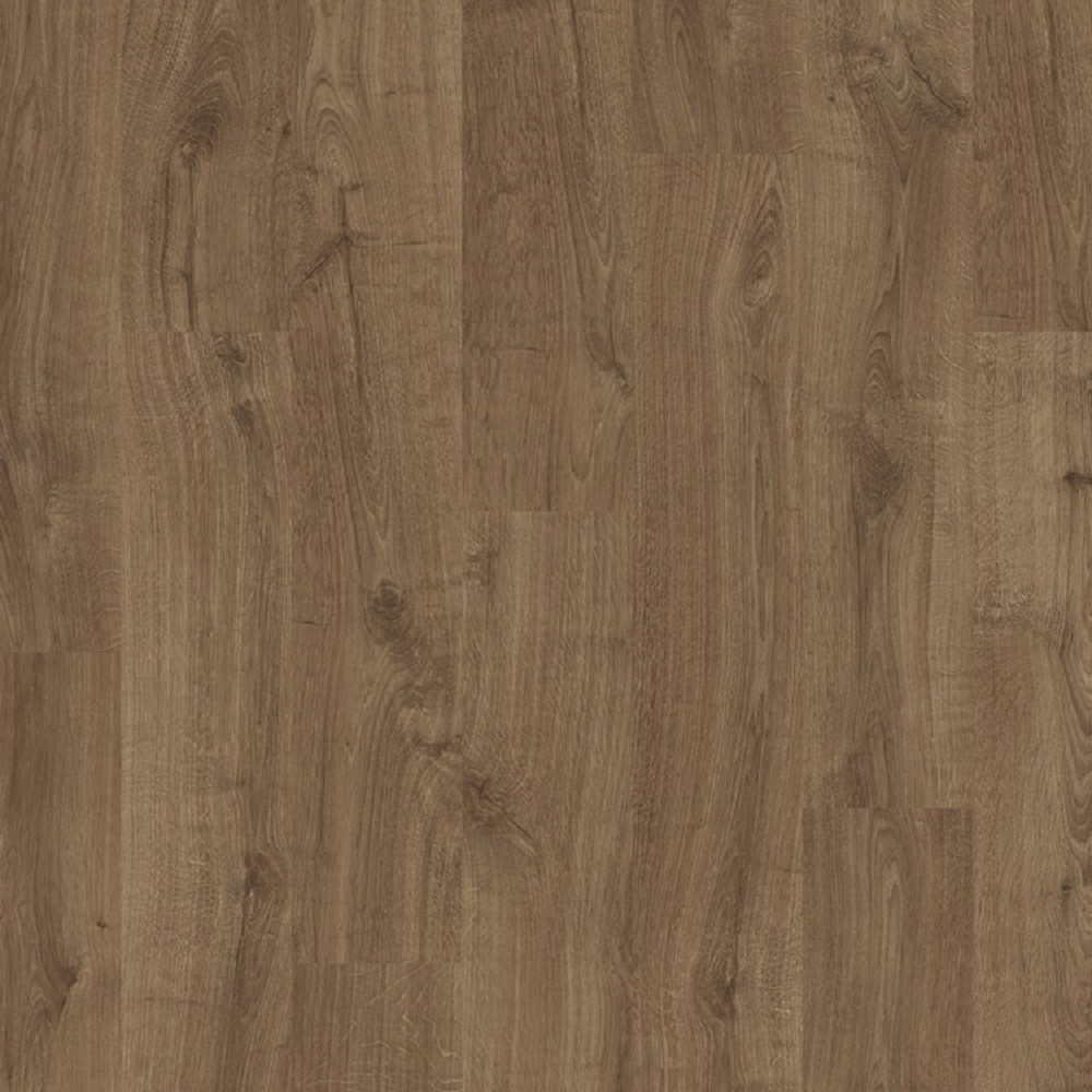 QUICK STEP LAMINATE ELIGNA COLLECTION OAK  NEWCASTLE BROWN FLOORING 8mm