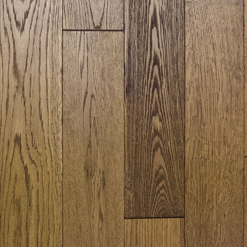 NATURAL SOLUTIONS NEXT STEP 125 OAK NUTMEG BRUSHED STAINED MATT LACQUERED  125xRandom