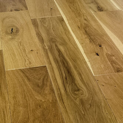 NATURAL SOLUTIONS Virginia Solid OAK RUSTIC MATT LACQUERED 125xRandom