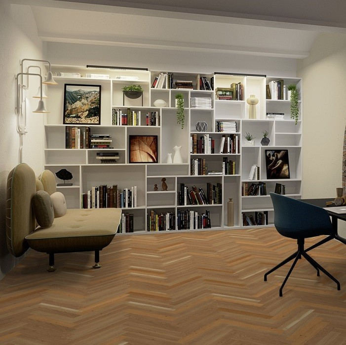 BOEN HERRINGBONE ENGINEERED WOOD FLOORING RUSTIC COLLECTION BASIC OAK RUSTIC MATT LACQUERED 70MM-CALL FOR PRICE