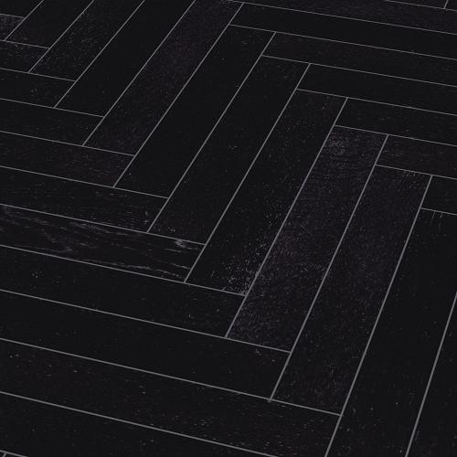 PARADOR HERRINGBONE  ENGINEERED WOOD FLOORING TRENDTIME OAK BLACK  MATT LACQUER 95X570MM