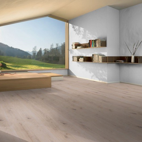 PARADOR ENGINEERED WOOD FLOORING ECO BALANCE  WIDE-PLANK OAK BRUSHED WHITE NATURAL OIL 2200X185MM