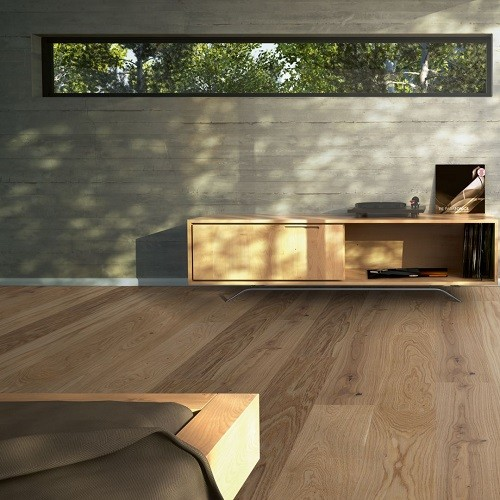 PARADOR ENGINEERED WOOD FLOORING WIDE-PLANK TRENDTIME-4 OAK CREAM MATT LACQUERED 2010X160MM