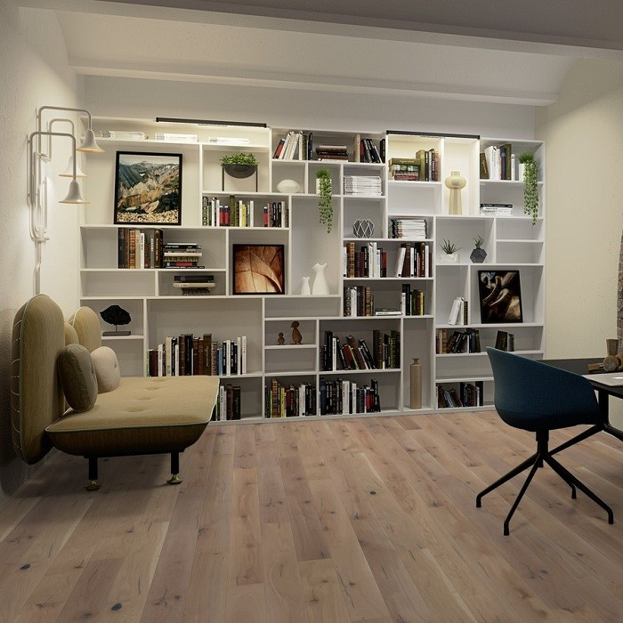 BOEN ENGINEERED WOOD FLOORING RUSTIC COLLECTION ESPRESSIVO WHITE OAK RUSTIC OILED 138MM-CALL FOR PRICE