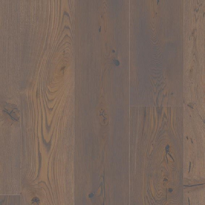 BOEN ENGINEERED WOOD FLOORING RUSTIC COLLECTION CHALETINO GREY PEPPER OAK RUSTIC BRUSHED OILED 300MM - CALL FOR PRICE