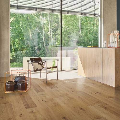 PARADOR ENGINEERED WOOD FLOORING WIDE-PLANK TRENDTIME OAK HANDCRAFTED NATURAL OILED PLUS 1882X190MM