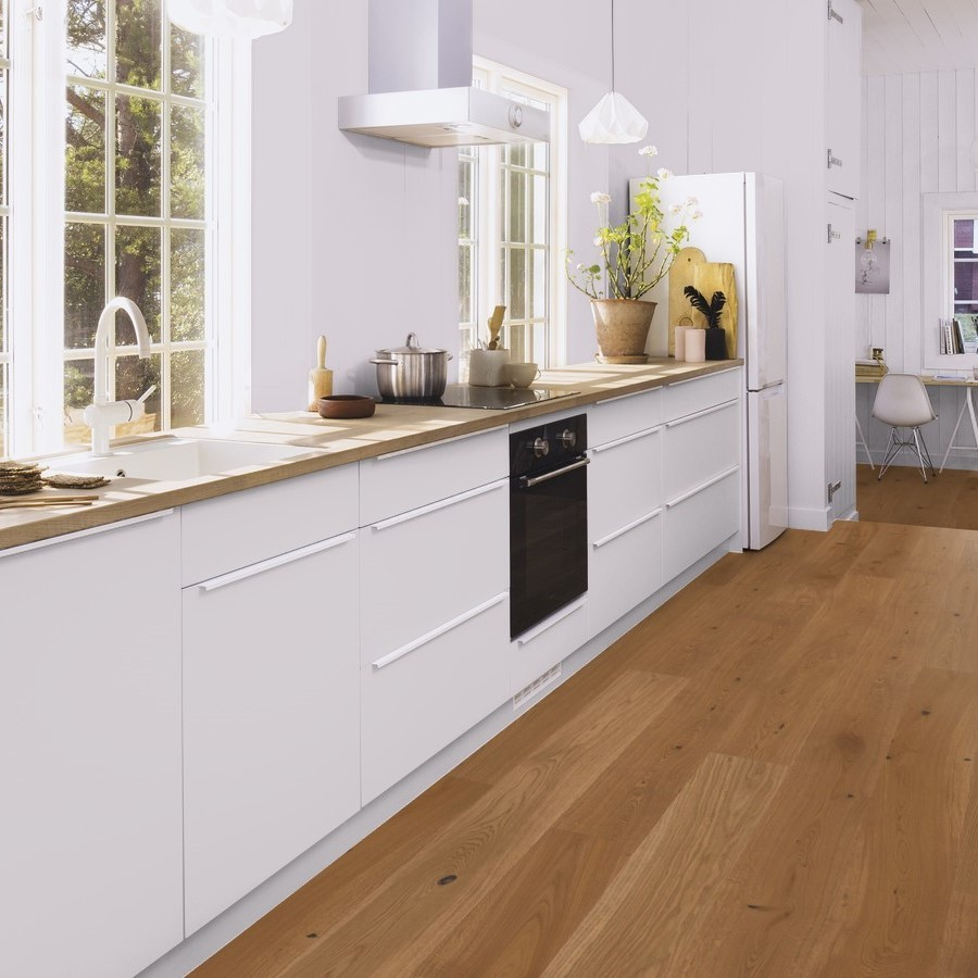 BOEN ENGINEERED WOOD FLOORING RUSTIC COLLECTION HONEY OAK BRUSHED RUSTIC OILED 138MM-CALL FOR PRICE